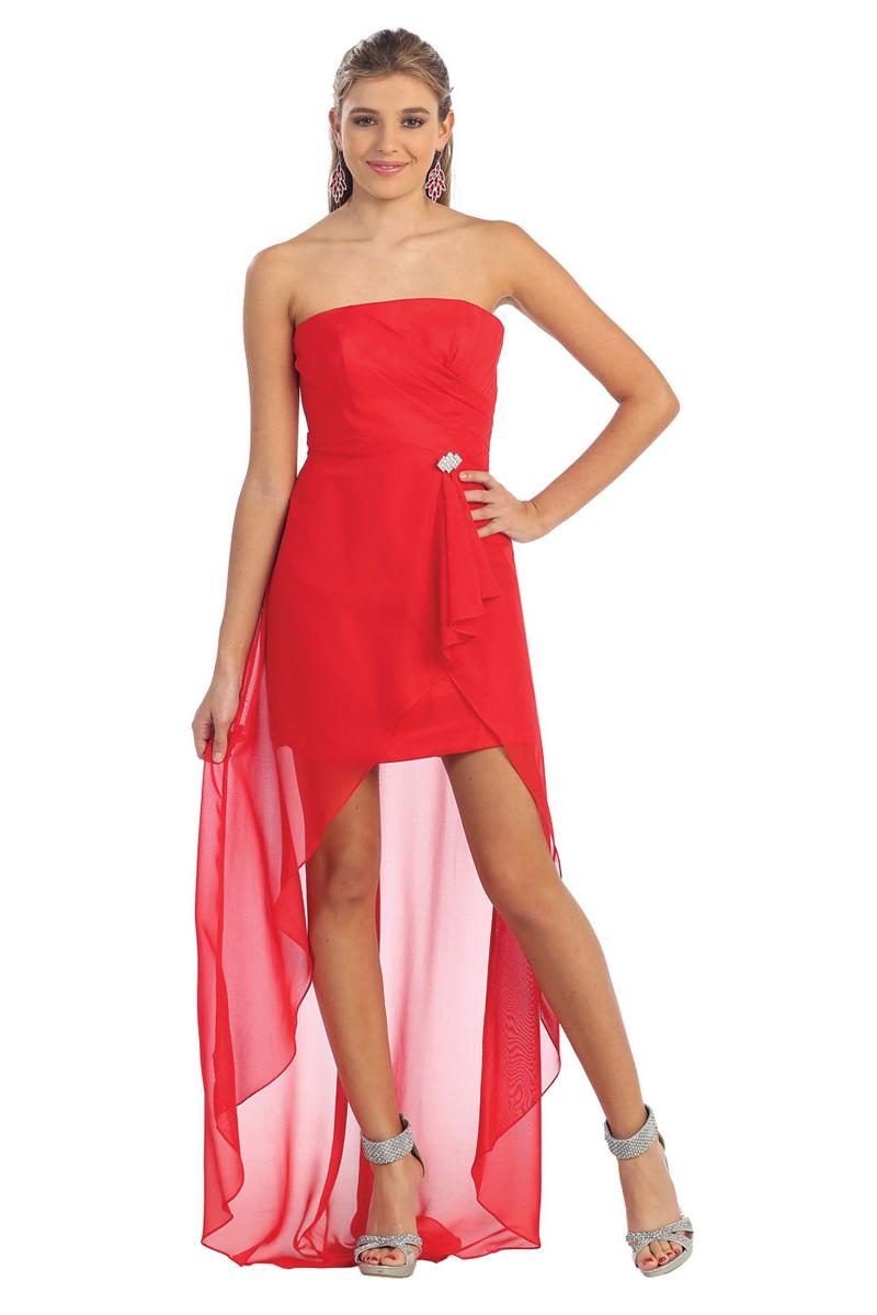 Sexy Vokuhila-Kleider – vorne kurz hinten lang Abendkleider