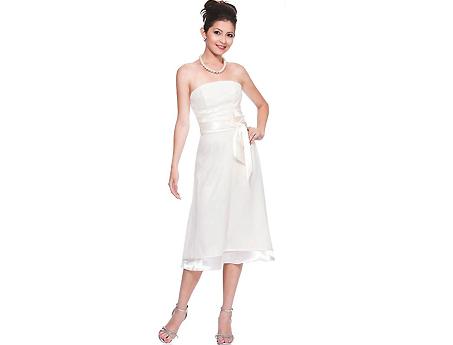 Hochzeitskleider Standesamt kurz Taffeta Brautmode Hochzeitskleid ...