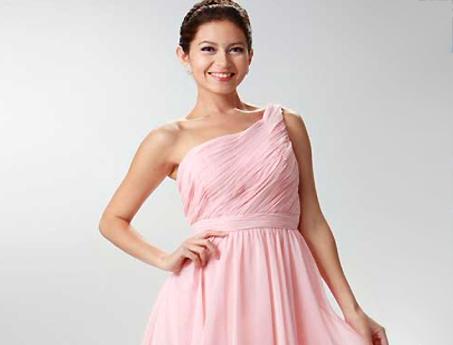 Rosa Abendkleider