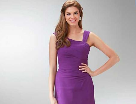 violette Abendkleider